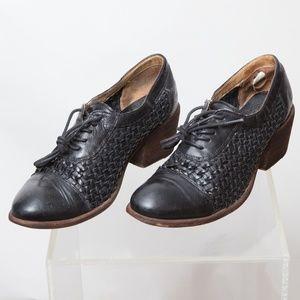 Frye Womens 6.5 B Maggie Woven Oxford Size 9